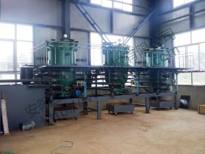 Hebei Handan 200 tons diesel oil decolorization production line