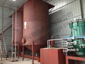Shandong Zibo 100 tons diesel oil decolorization production line