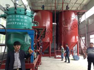 Nissan 100 tons diesel oil decolorization production line