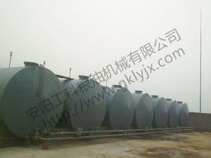 Hebei Cangzhou 100 tons diesel oil decolorization production line