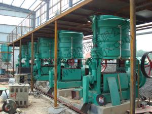 Oil press in installation