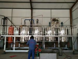 8.Nissan 3 tons of refining equipment
