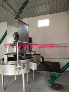 1.Heat conducting oil steaming pan