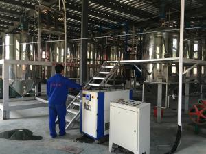 8.3 tons of tea seed oil cold dewaxing equipment