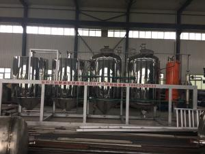 4.The production of 3 tons of refining equipment